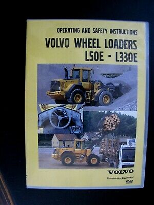 Volvo Wheel Loaders L50e - L330e Operating And Safety Instructions - Dvd