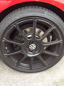 VWR Motor sport wheels with tires
