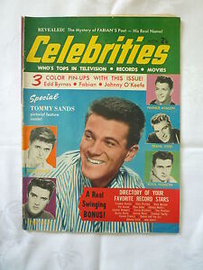MOVIE CELEBRITIES MAGAZINE 1959 Elvis Presley, Tuesday Weld, Liz Taylor