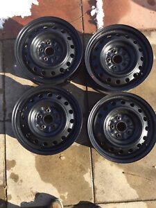 Set of 16 inch Toyota Rims