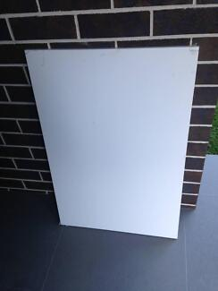 Kaboodle Gloss White Base End Panel - Kitchen flatpack item