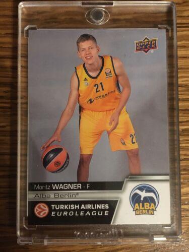 201516 Moritz Wagner PreROOKIE Alba Berlin Upper Deck Euroleague Karte