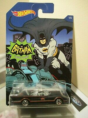 Hot Wheels 1:64 Scale 2016 Walmart Exclusive Batman Classic TV Series Batmobile