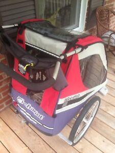Poussette/remorque chariot Double
