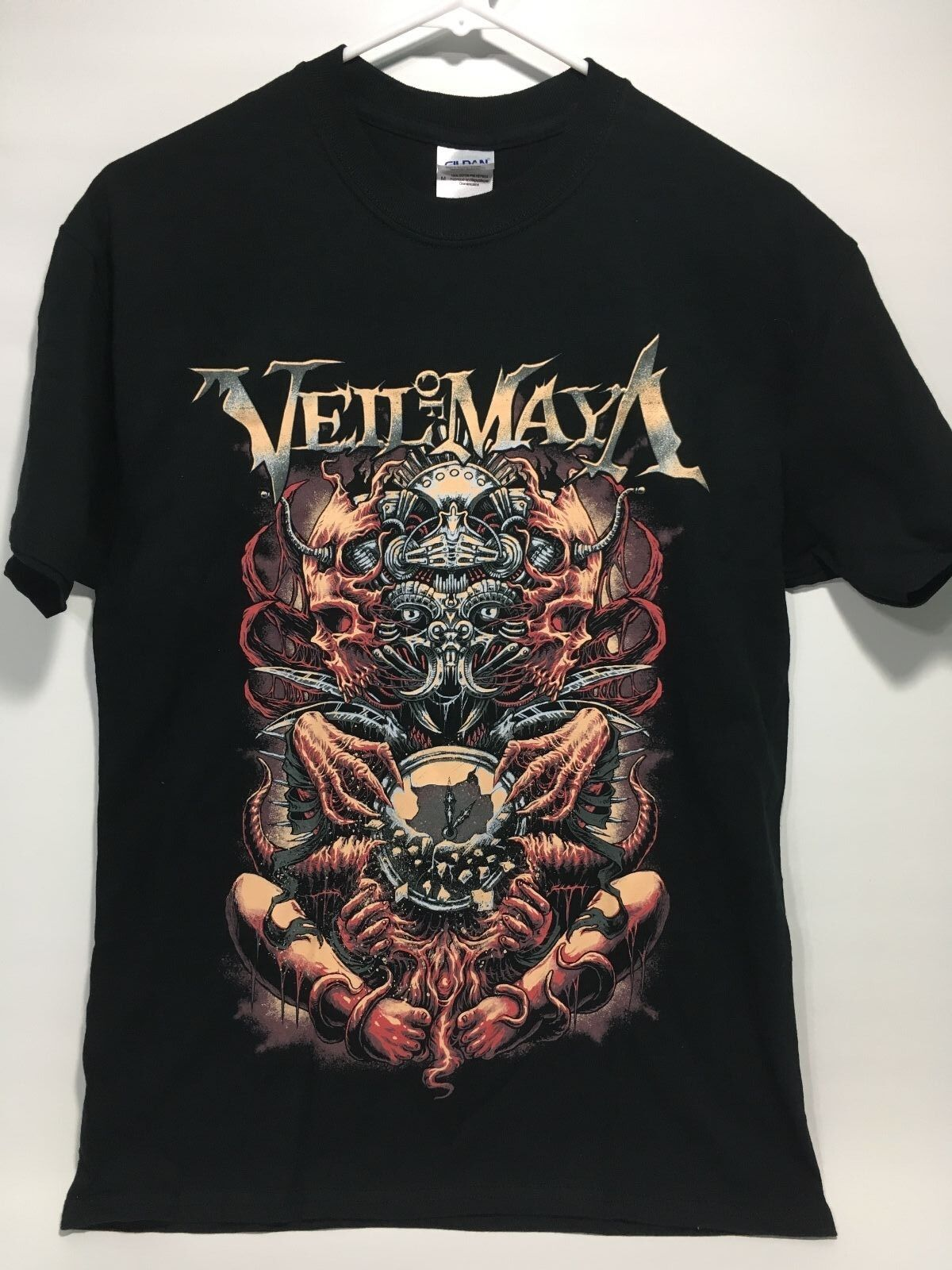 Veil of Maya Concert Tour T-Shirt Heavy Metalcore Deathcore Heavy Metal (B)