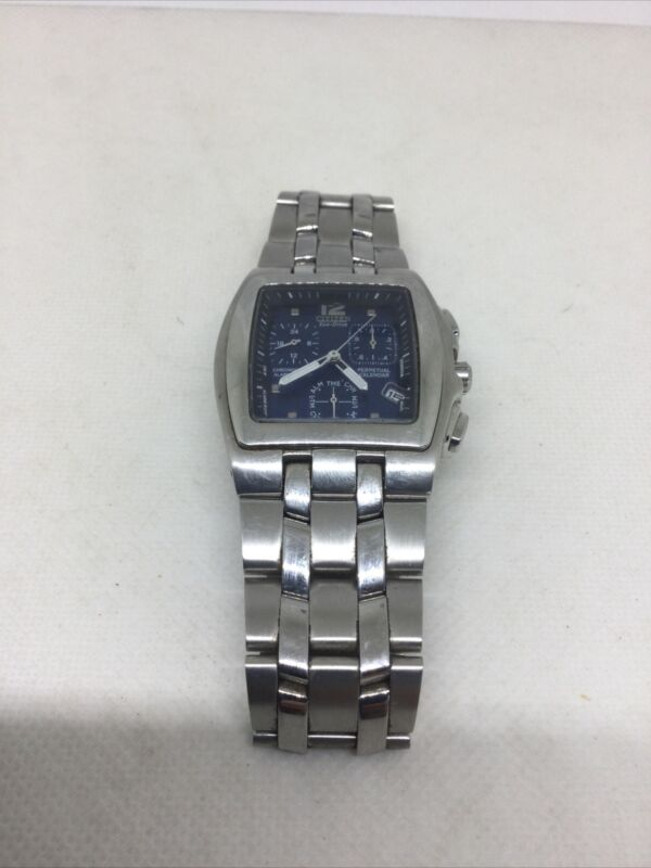 Citizen Mens Eco-Drive Chronograph Stainless Steel Watch