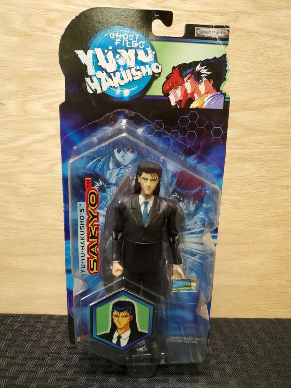 Yu Yu Hakusho SAKYO Figure 2004 Jakks Pacific Funimation Ghost Files