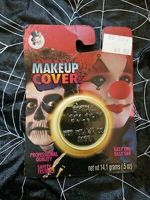 VINTAGE 1995 NOS COLLEGEVILLE IMAGINEERING HALLOWEEN SKULL CLOWN MAKEUP COVER