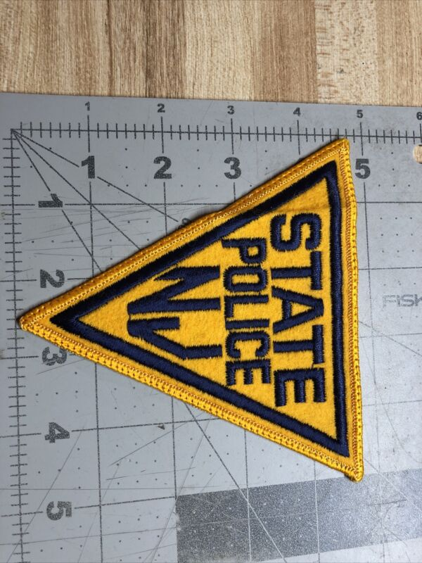 NEW JERSEY STATE POLICE SHOULDER PATCH