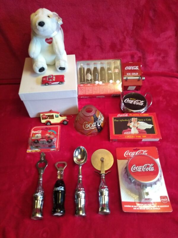 GREAT ESTATE LOT Coca-Cola Vintage Collectibles!! SEE PHOTOS!!!