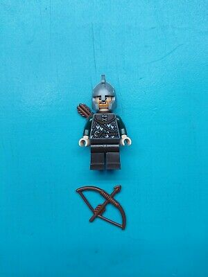 Lego Lord of Rings Hobbit Minifigure Rohan Soldier Bow/Arrows 9471!