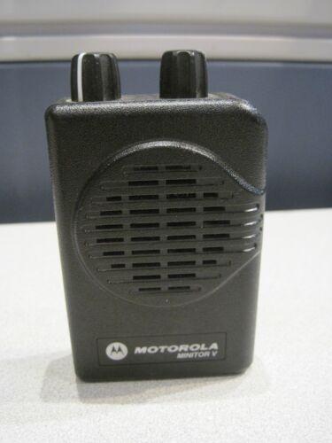 Motorola Minitor V  2-Channel VHF Pager 151-158.9975 MHz