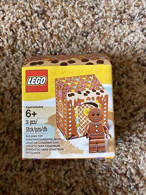 LEGO 5005156 GINGERBREAD MAN in a BOX Minifigure Christmas Building Toy NIB