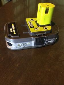 Ryobi one+ 18v lithium battery 2.5Ah Sunbury Hume Area Preview