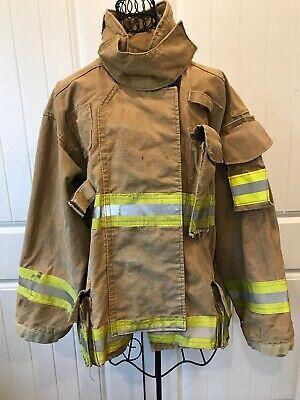 Firefighter Turnout Jacket Coat Sz 46r Length 35 Mfg1997