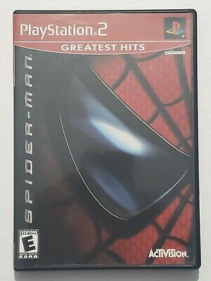 Spiderman - (PlayStation 2-PS2)-Complete-Tested-