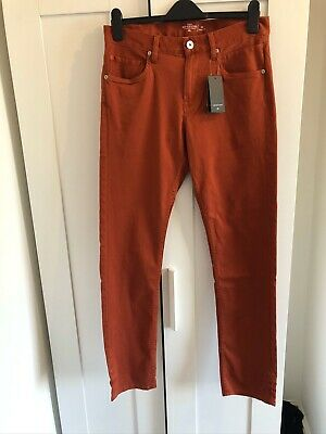 QUICKSILVER STRAIGHT FIT MENS JEANS SIZE 30 New With Tags Rrp £60