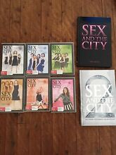 Sex and the city DVDs complete series Jannali Sutherland Area Preview
