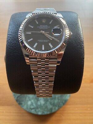Rolex Datejust 41, 126334, fluted bezel, jubilee bracelet, mint, B&P.