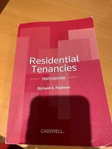 Residential tenancies