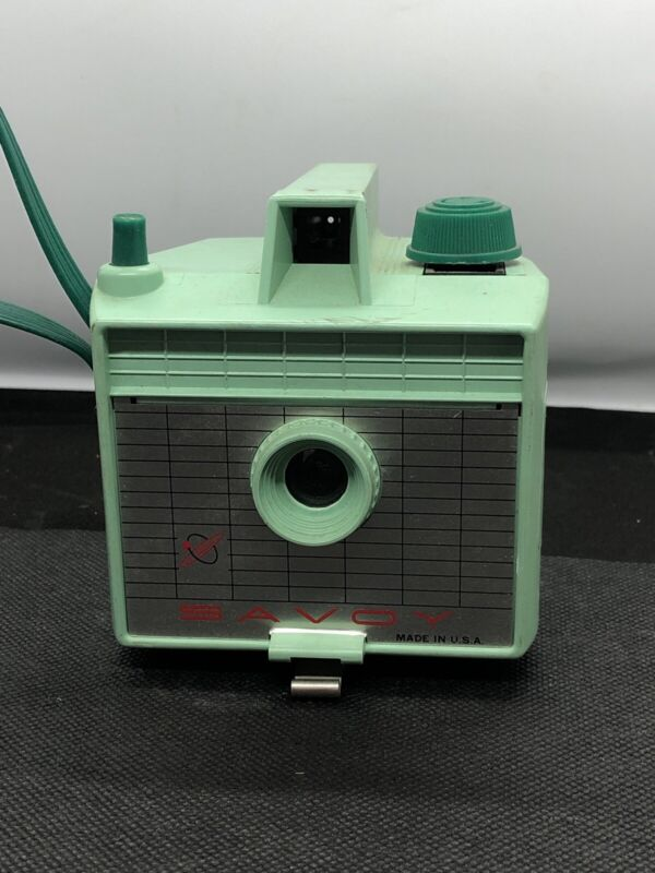 Vintage Savoy Imperial Box Camera ~Mint Green~ Nice Decorating Piece***