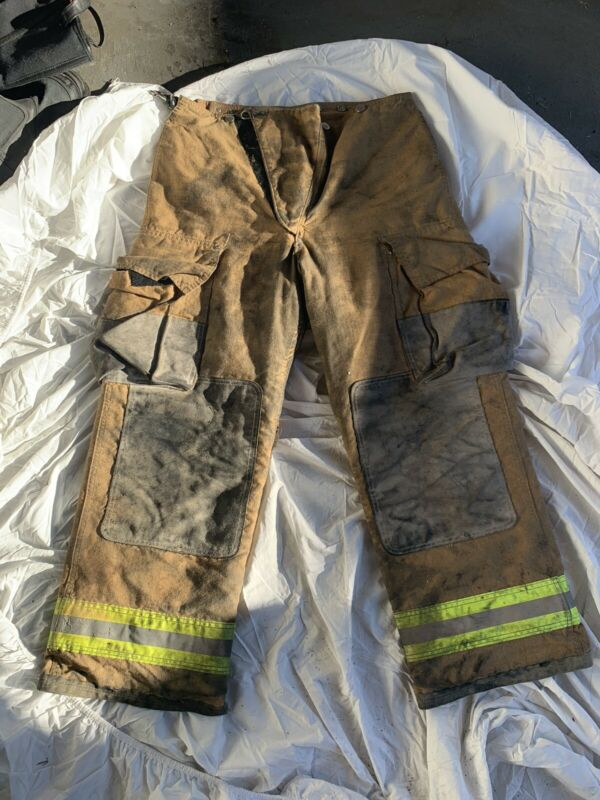 Globe Firefighter Turnout Gear Pants 34x30