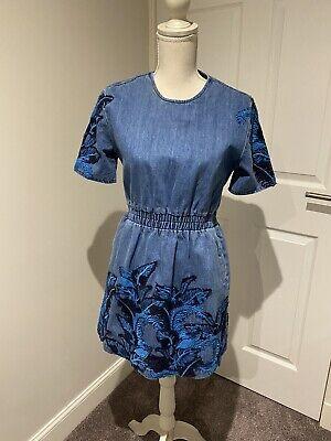BNWT House Of Holland Denim Dress Size 10