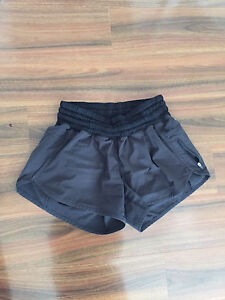 Lululemon Black Tracker Shorts