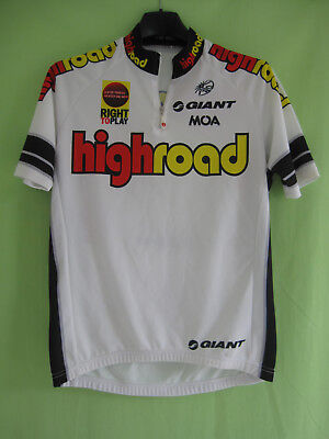 ac3cb7591 Maillot cycliste High Road UCI Pro tour 2008 Giant MOA Jersey Vintage - S