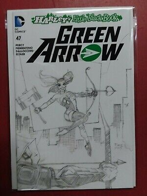 GREEN ARROW #47 TIM SALE SKETCH VARIANT COVER (9.4 Or Better) DC