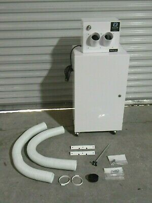Extract-all Portable Fume Extractor Air Cleaning System W 2 Arms Sp-981-2b
