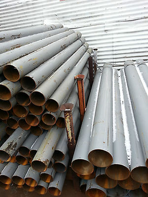 Steel Round Pipe 6-58 O.d.x .134 Wall X 84 Pipe Ballards