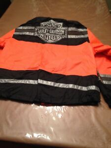 High  Visibility Harley Rainsuit Men's  XL / Women's Med