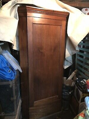 Antique Corner Cabinet / Toy / Coat / Shoe / Linen Cupboard (Mahogany)
