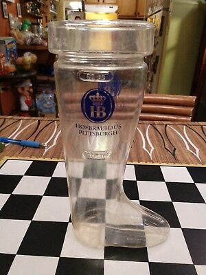 Das Boot plastic drink cup Hofbrauhaus Pittsburgh Restaurant 28 oz nice !!! - Boot Cups