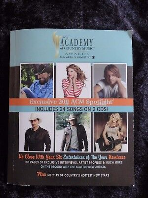 Cma Academy Of Country Music Awards 2011  Digipak Book 2 Cd   Walmart Exclusive