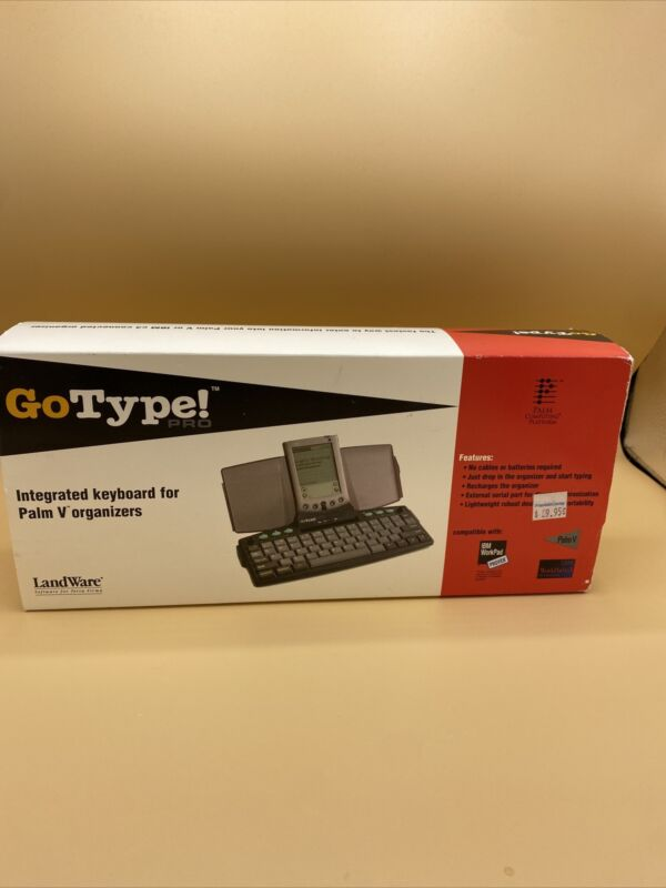 Landware - Gotype Pro integrated keyboard for Palm V organizers - new w/ open bo