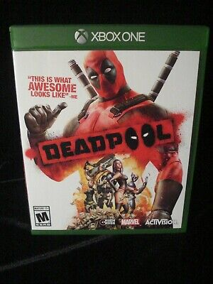 Xbox One DEADPOOL Adult Owned