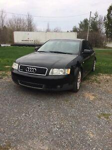 Audi a4 2002 moteur a changé 800$