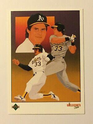 1989 Upper Deck Collectors Choice #670 Jose Canseco Oakland Athletics MINT