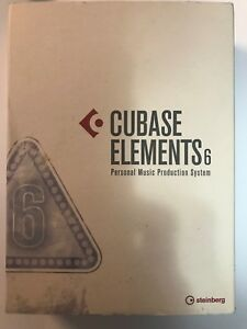 CUBASE ELEMENTS 6 Personal Music Production System Software
