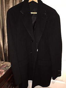 New men's dress overcoat Size 46 Regular