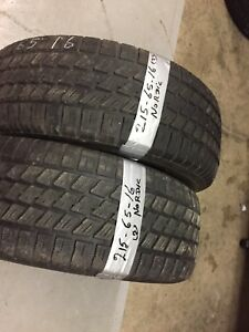 x2 Nordic Winter Tires 215/65/16