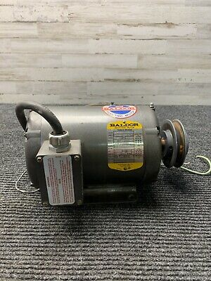 Baldor M3157t 200-230460v Electric Motor 2hp 1725 Rpm 3ph 60hz