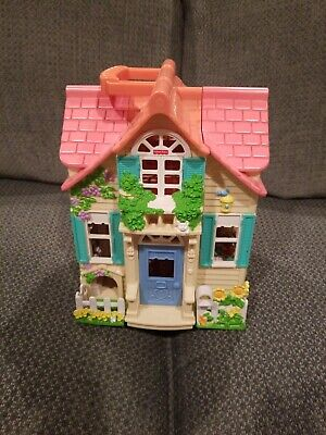 Fisher Price Loving Family Sweet Streets Country Cottage Dollhouse Mattel 2000