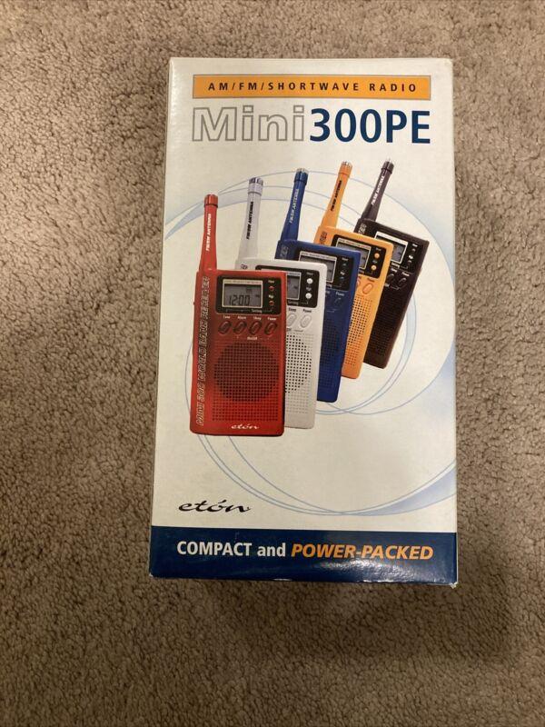 Eton Grundig M300 Mini300PE Handheld Shortwave Radio (Yellow)