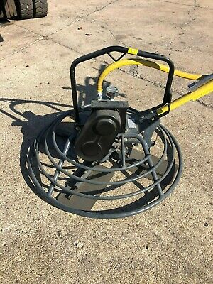 Cement Concrete Finisher Power Trowel Air Motor - Powered Power Trowel Air
