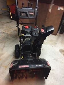 Craftsman 26 inches snow blower with starter