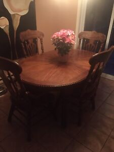 Solid wooden kitchen table for sale