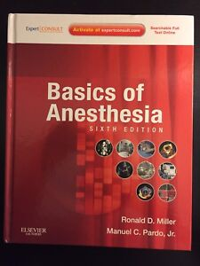 Basics of Anesthesia- 6th Edition